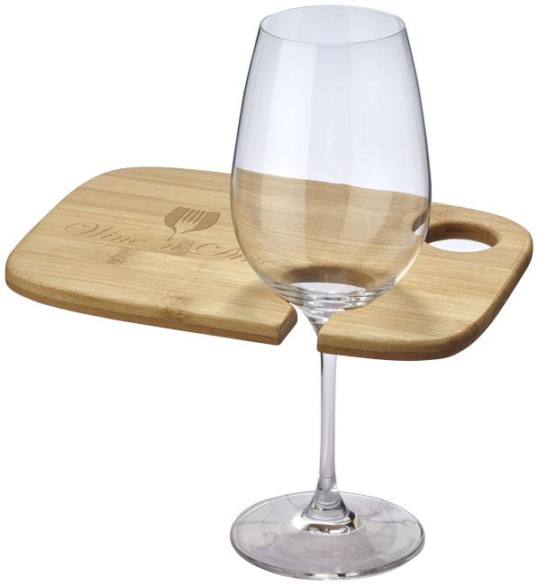 Tábua para aperitivos com base para copo (Não incluido) Mill