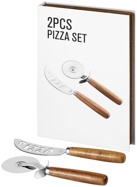 Conjunto para pizza de 2 peças Nantes