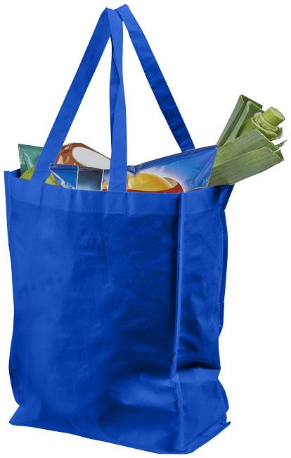 Saco de compras Tote laminado médio Conessa