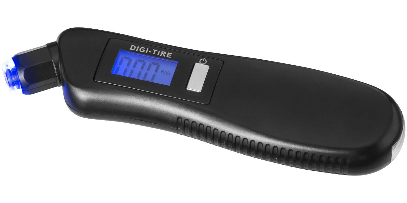 Manómetro Para Neumáticos 3 En 1 Con Luz LED - Shines