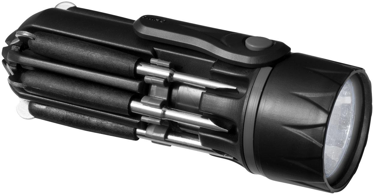 Chave de parafusos 8 em 1 com lanterna Spidey