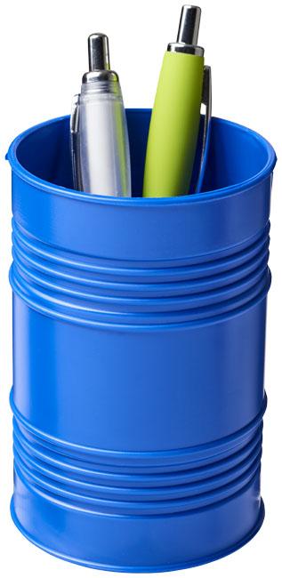 Porta-canetas de plástico com estilo de barril de petróleo Bardo