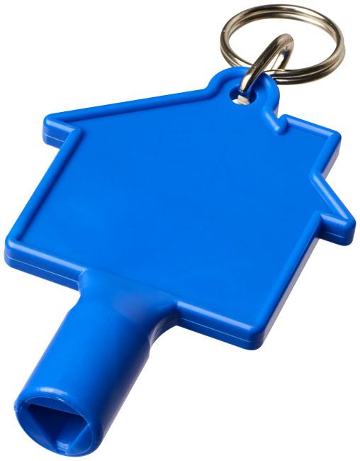Chave de caixas de contador em forma de casa com porta-chaves Maximilian