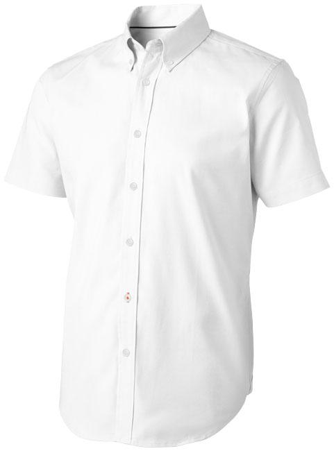 Camisa malha oxford manga curta de homem Manitoba