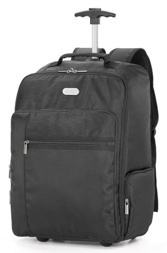 Laptop trolley backpack. AVENIR