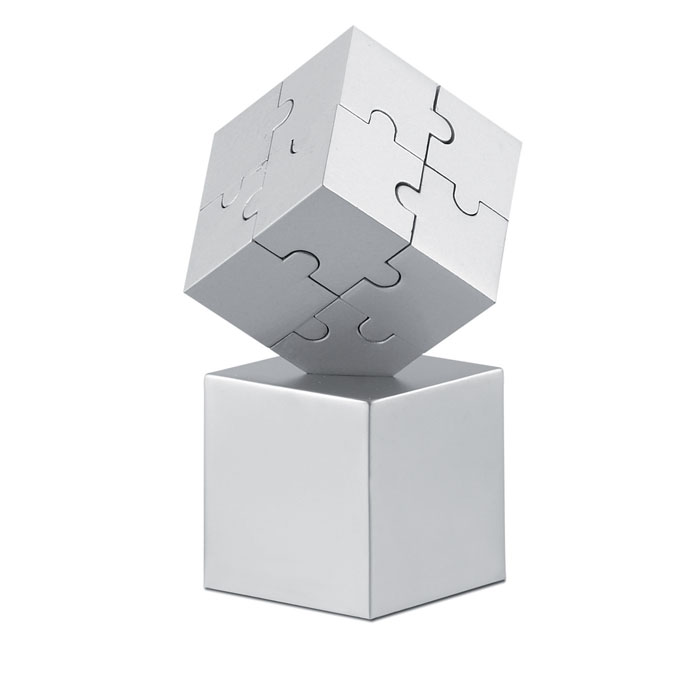 Puzzle 3D metálico y magnético - KUBZLE