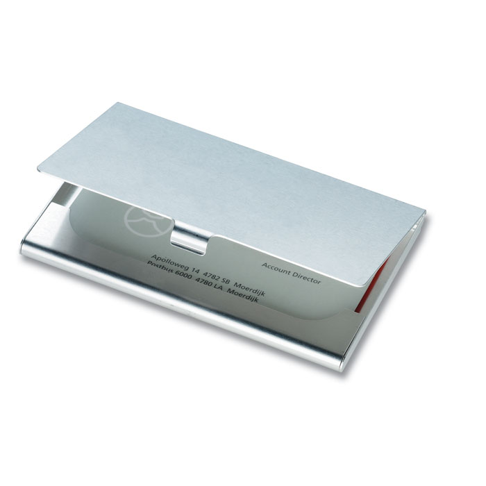 Aluminium Business Card Holder - Epsom