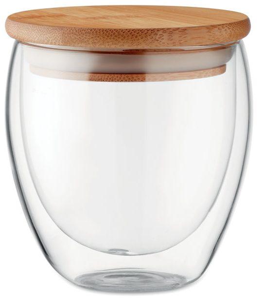 Vaso Cristal Doble Capa 250 Ml - Tirana Small