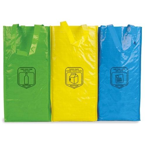 Saco de Reciclagem Triple Eco Non