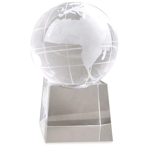 Troféu em forma de Mundo