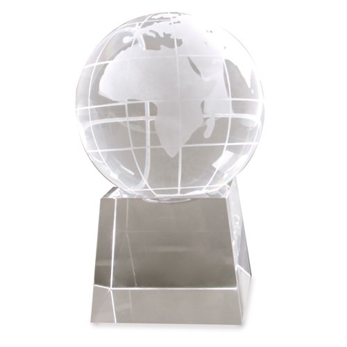 Troféu em forma de  Bola Mundo