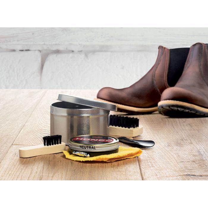 Conjunto de engraxar sapatos