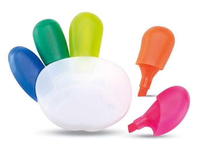 Marcadores 5 cores COLORE