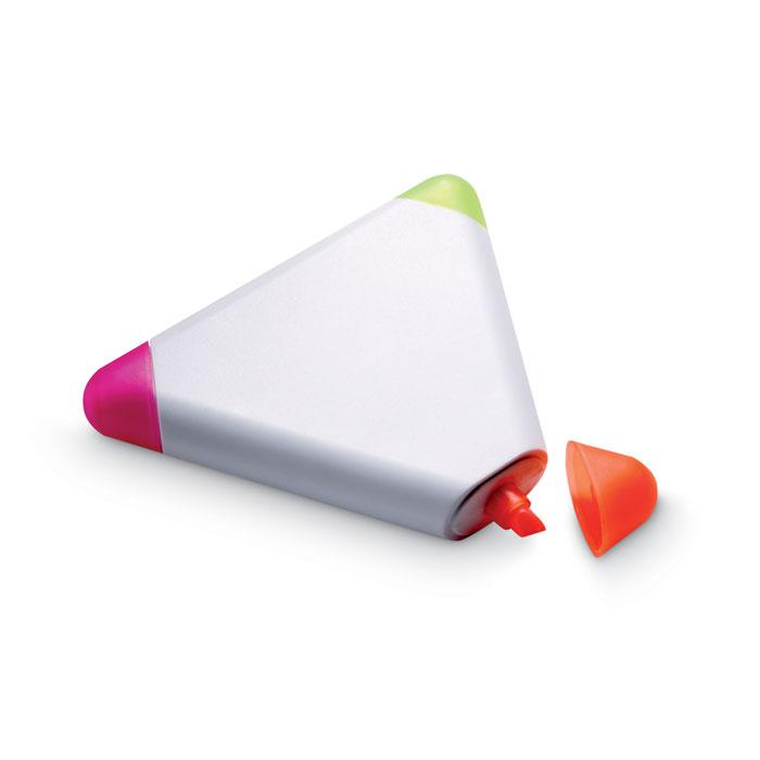 Marcador Triangular Com 3 Cores - Triangulo