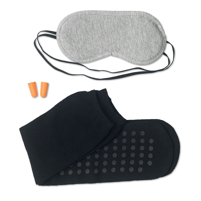 Eye mask, earplugs and socks - DREAMY