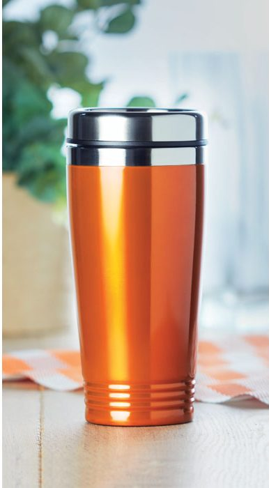 Double Wall Travel Cup - Rodeo Colour