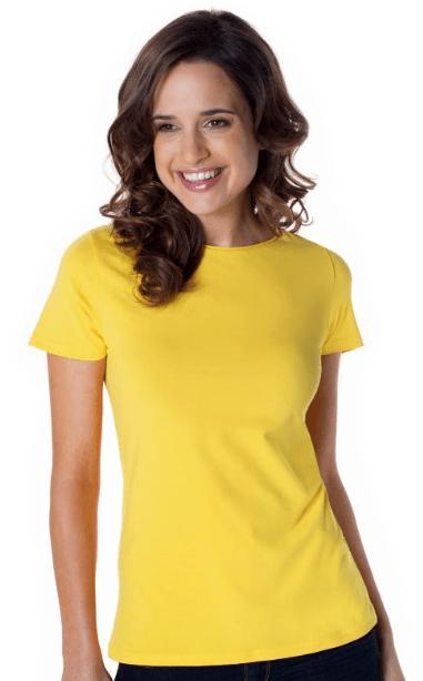 T-Shirt Senhora Gola Redonda