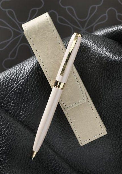 Set de bolígrafo con funda Pearl