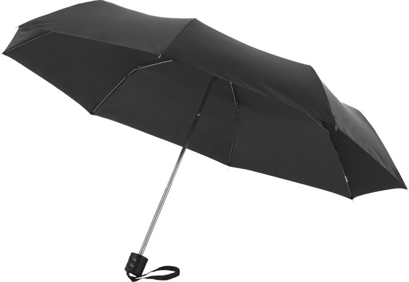 Guarda-chuva dobrável de 3 secções de 21,5 Ida