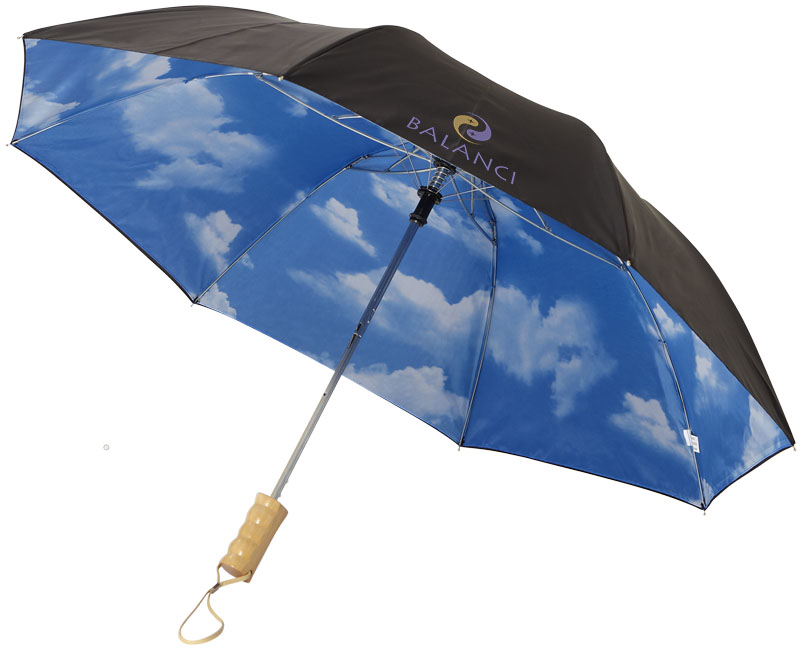 Blue-skies 21 foldable auto open umbrella