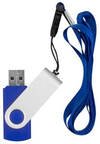 4GB Memory stick with lanyard