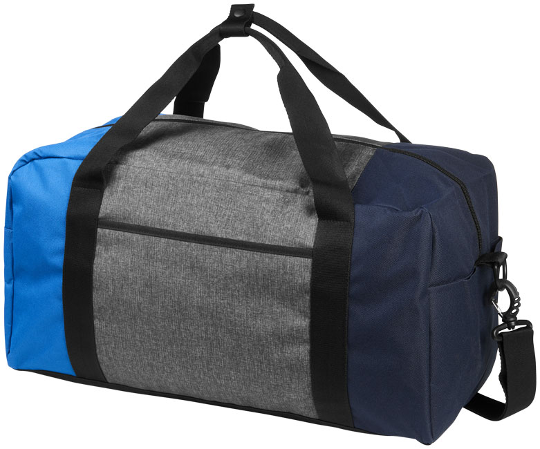 Three-way colourblock 19 duffel bag