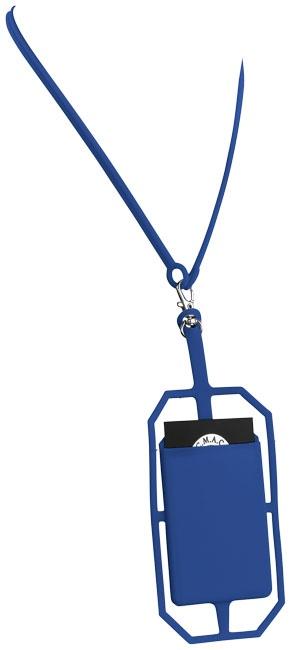 Fita de pescoço para cartões RFID em silicone Fort-rock