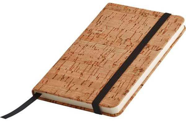 A6 notebook with a cork cover