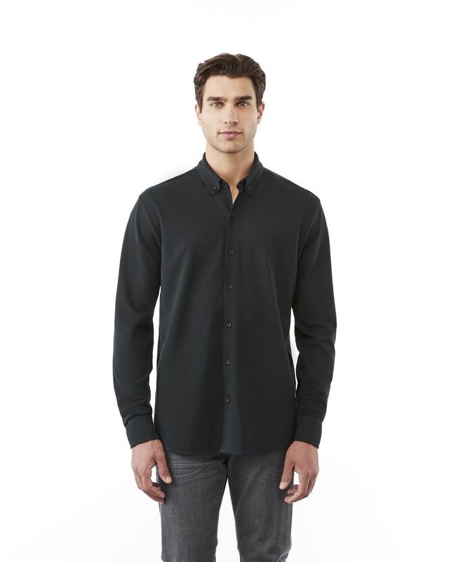Camisa piqué manga comprida de homem Bigelow