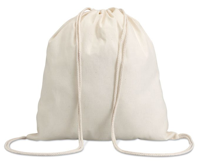 Cotton drawstring bag - HUNDRED