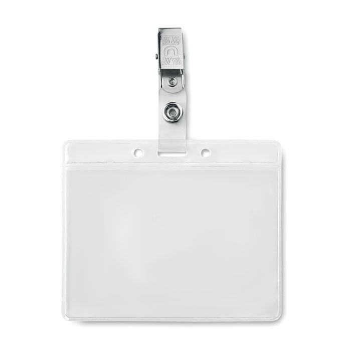 PVC badge holder - CLIPBADGE