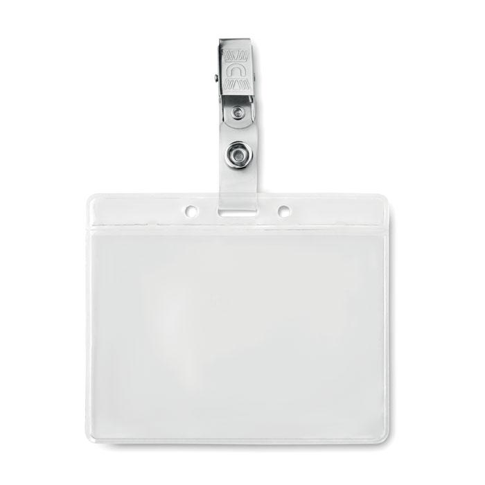 Identificador PVC - CLIPBADGE