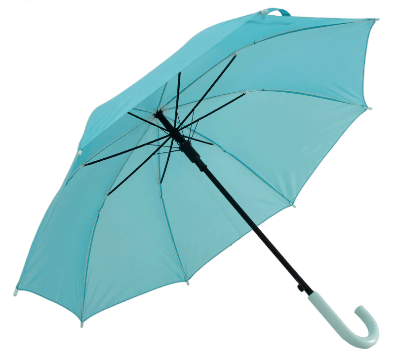Automatic umbrella with 8 ribs