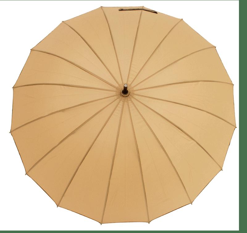 Paraguas automático con 16 varillas