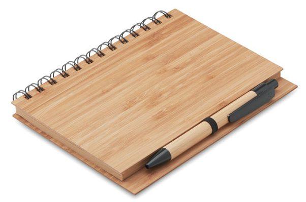 Bloco de Notas de Bambu - Bambloc