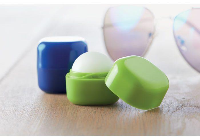 Lip Balm In Cube Box - Lips
