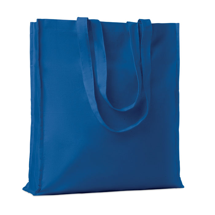 Cotton shopping bag w/ gusset - PORTOBELLO