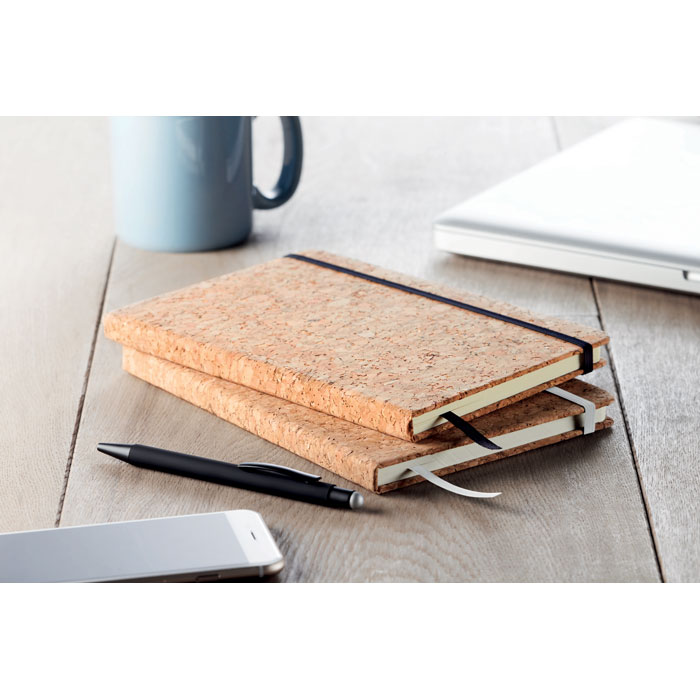 A5 Notebook With Cork Cover - Suber