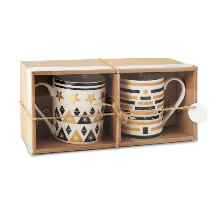 Set dos tazas en caja - TETE A TETE