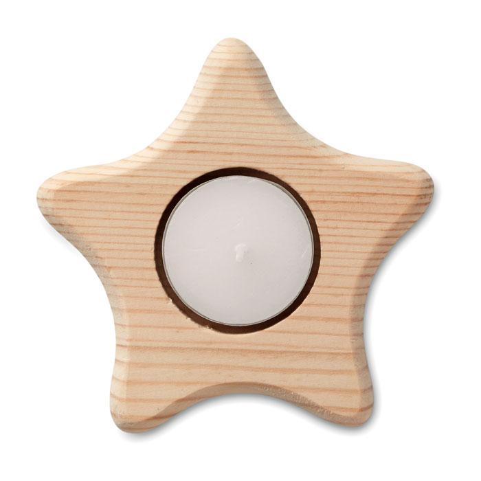 Portavelas en forma de estrella - TEASTAR