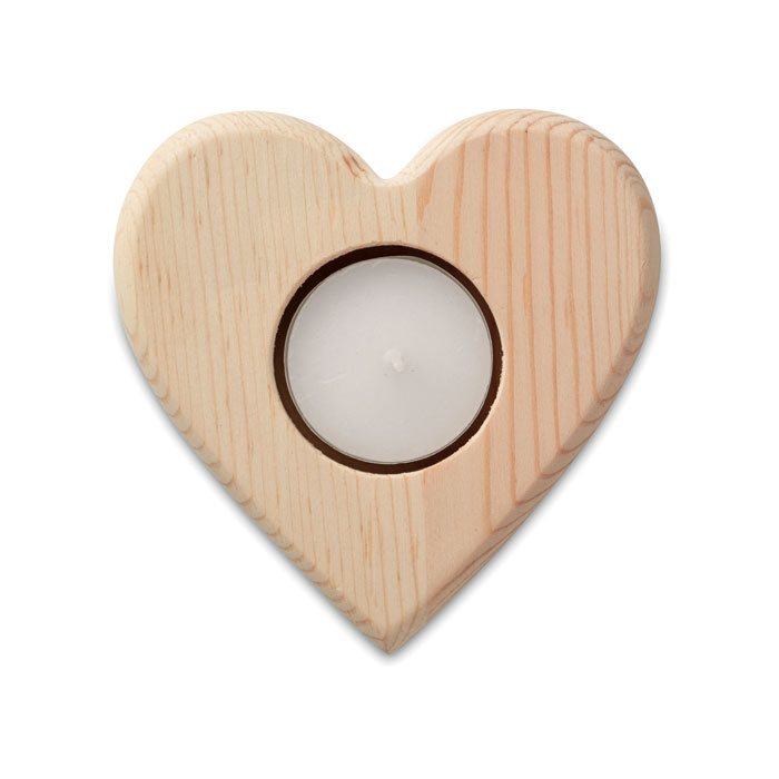 Heart Shaped Candle Holder - Teaheart