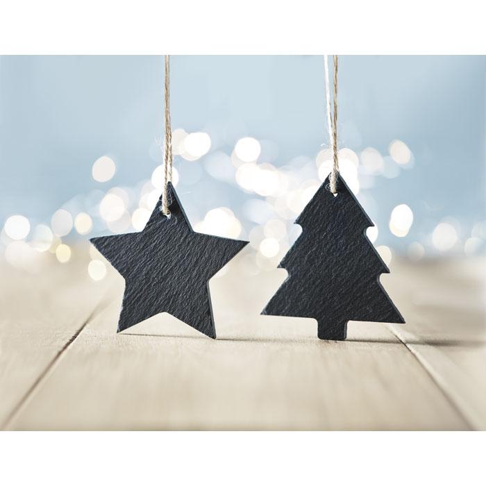 Slate xmas hanger star - SLATESTAR