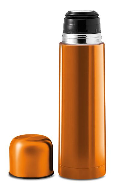 Double walled thermos flask