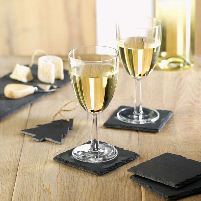 Slate Coasters With EVA Bottom - Slate4