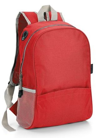 Backpack with padded back and shoulder straps