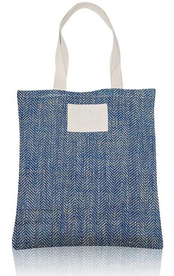 Jute bag with 100% cotton handles
