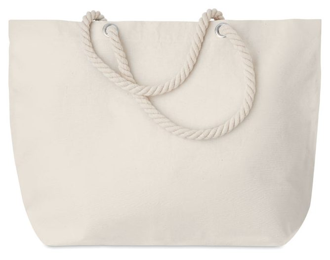 Beach Bag with Cord Handle - MENORCA