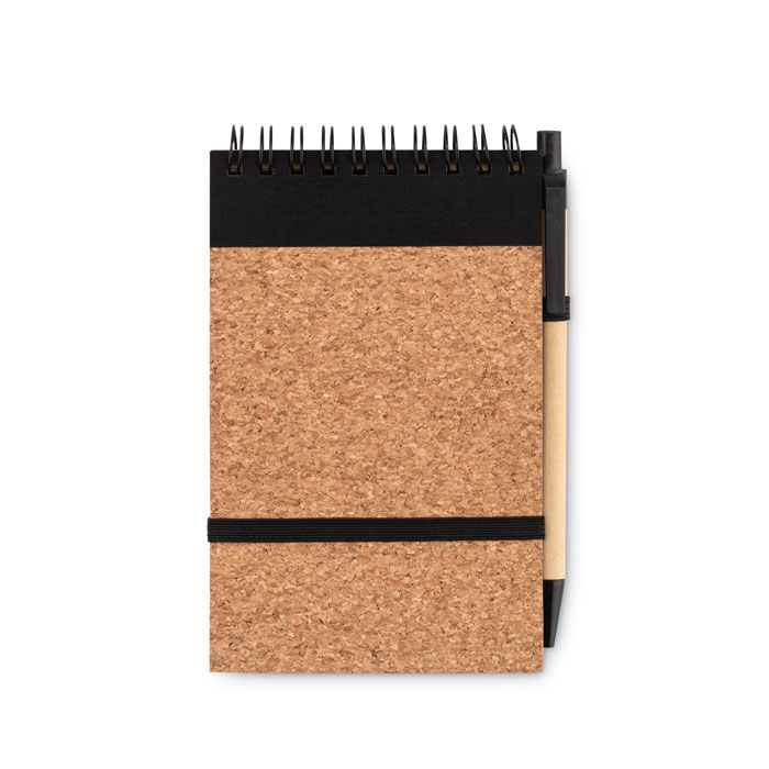 A6 Cork Notebook With Pen - Sonoracork