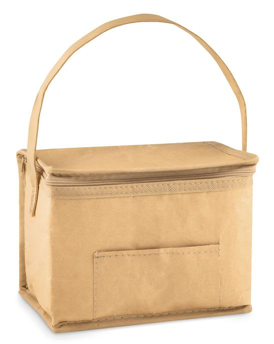 6 Can Woven Paper Cooler Bag - Papercool