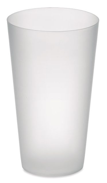 Reusable Frosted PP cup 550 ml - FESTA CUP